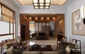中式别墅 留一颗明净之心
