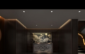 中式设计酒店装修方案—吴裕泰内府菜