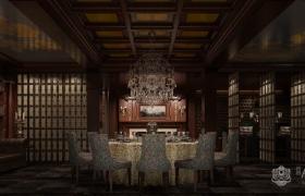 新中式风格私人会所装修案例赏析—适度为美