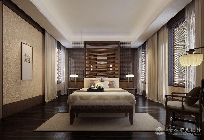 中式设计四合院样板间装修案例